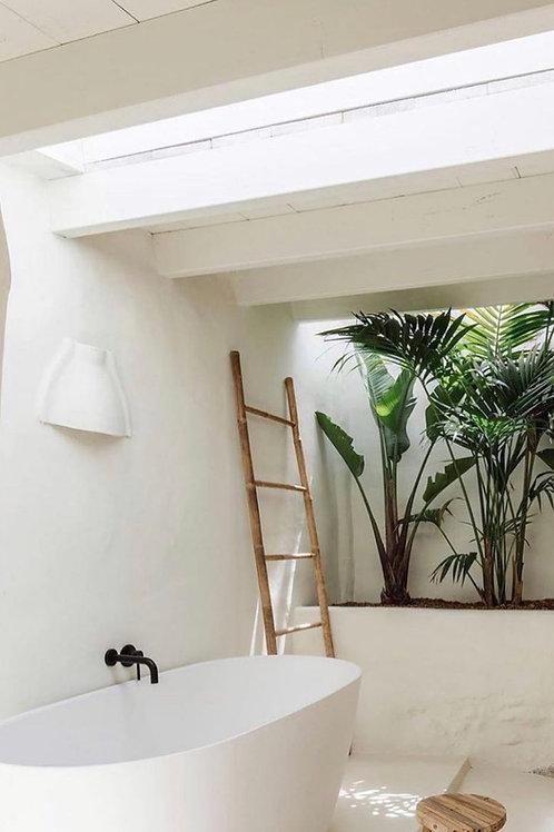 Staircase bamboo natural 48,5x4x180εκ