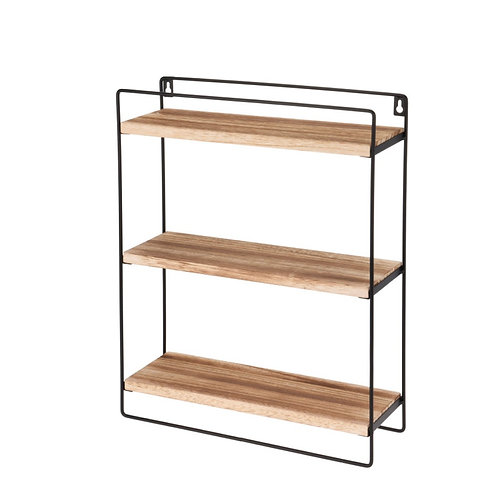 Closet with  3  wooden shelves 37X46cm