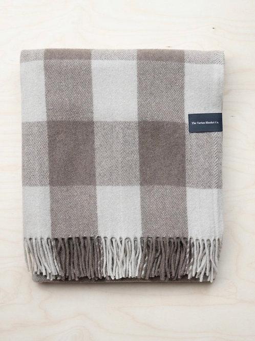 Recycled Wool Knee Blanket in Jacob Tartan