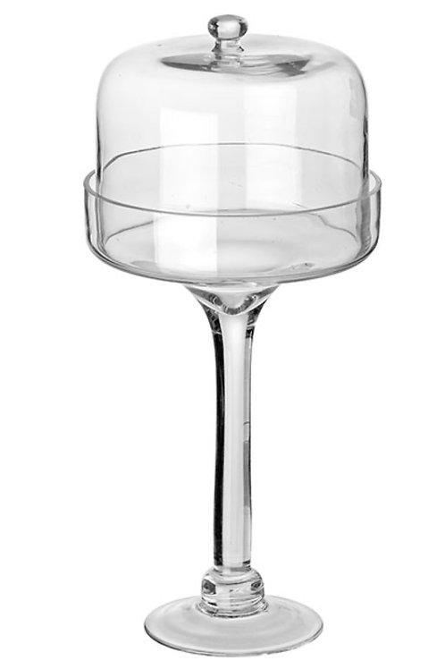 Glass jar with lid 18 x 40 cm