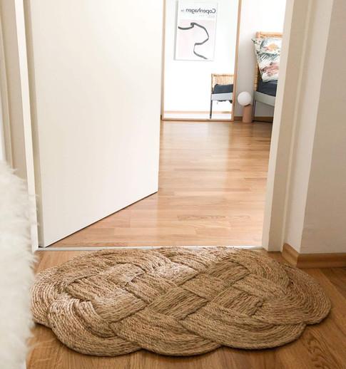 Shanxi natural door rug