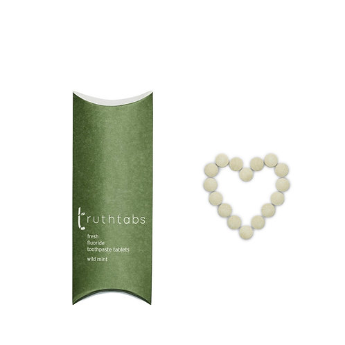 New! Truthtabs - Wild Mint flavour toothpaste tablets. One Month supply