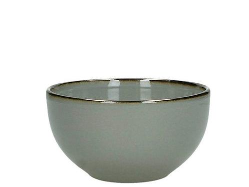 Bowl stoneware grey 13.8X13.8X7.4cm