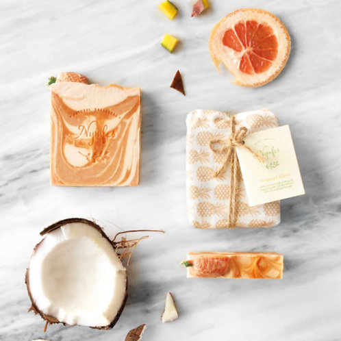 TROPICAL VIBES Summer Soap