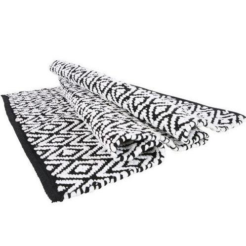 Yunnan black&white rug