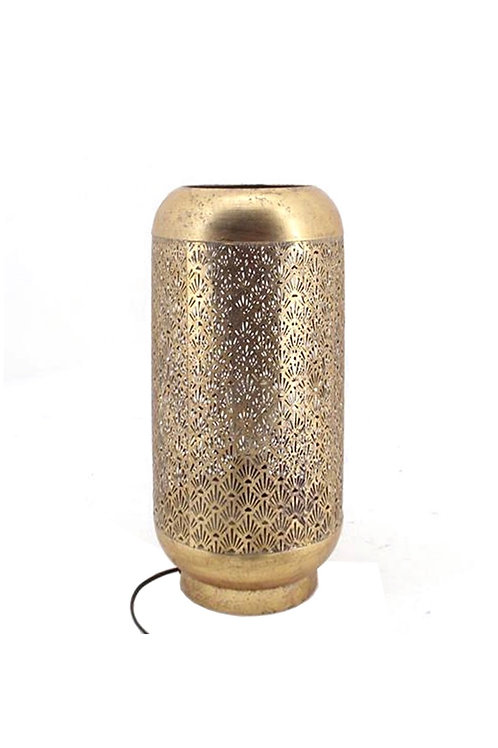 TABLE LAMP ANT.GOLD 23X51CM