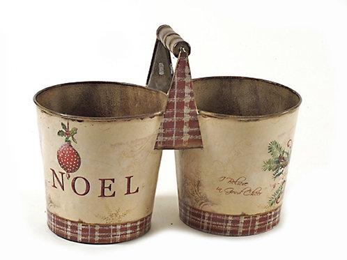 Noel flower pot