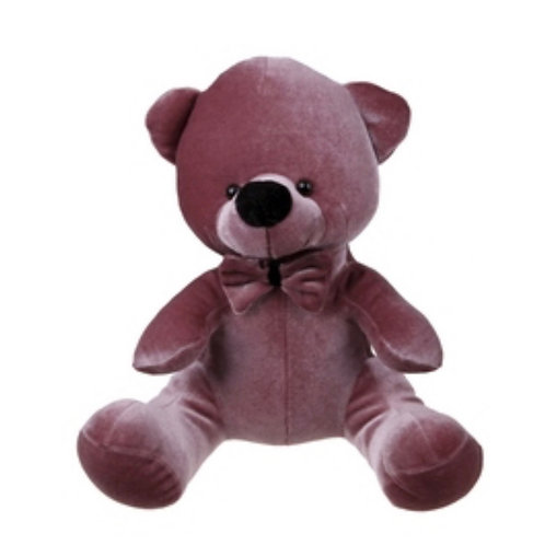 Teddy bear velvet pink 20cm