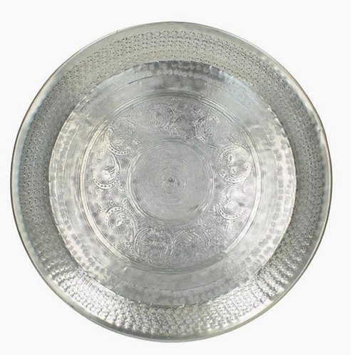 Silver tray 48cm