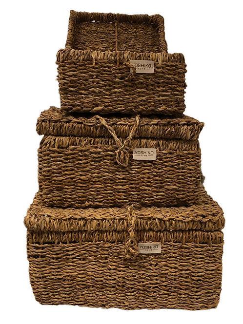 Piqniq - Storage basket with lid small