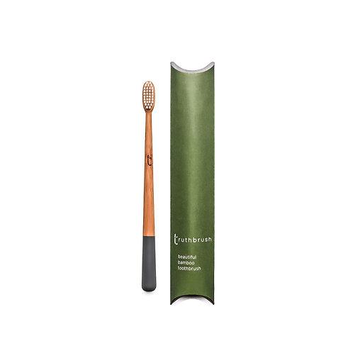The Truthbrush (Storm Grey), soft Plant Based Bristles