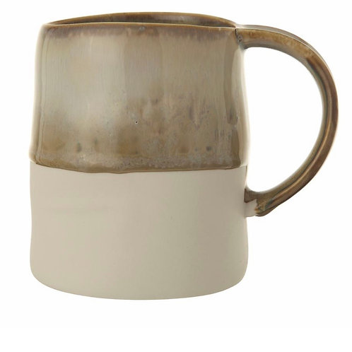 Heather Mug, Green, Stoneware