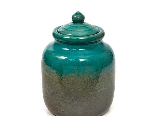 Petrol Ceramic pot