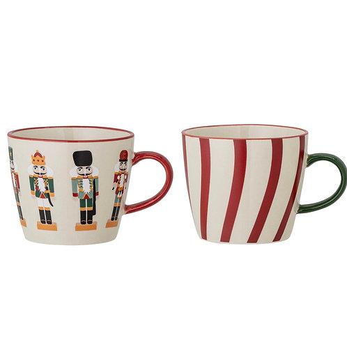 Jolly Mug, Red, Stoneware