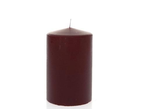 Candle bourdeaux 9X14cm