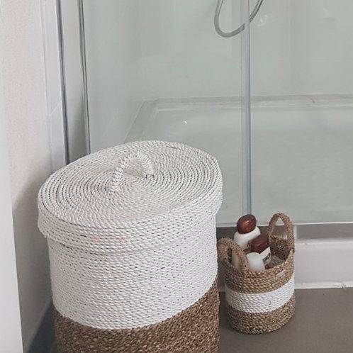 Malang - Natural/white Large