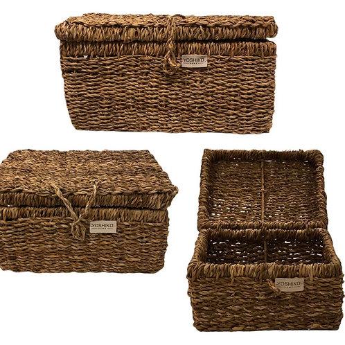 Piqniq - Storage basket with lid large