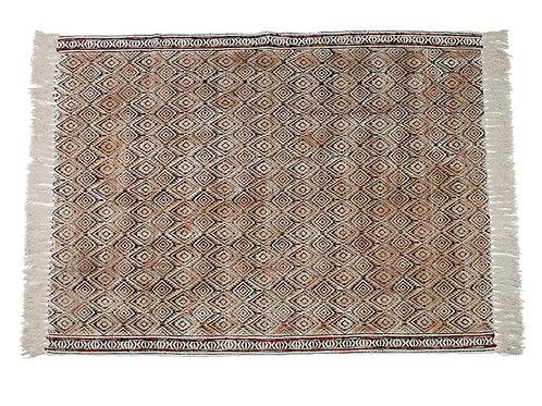 Carpet cotton peach 120x180cm