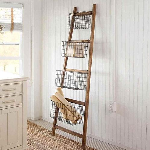 Rack-stair floor color natural-black