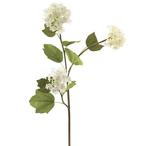 Viburno spray x 3 flower white 70cm