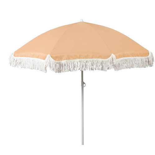 Beach umbrella peach colour