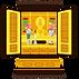 キラキラした仏壇
