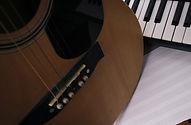 ギターと鍵盤