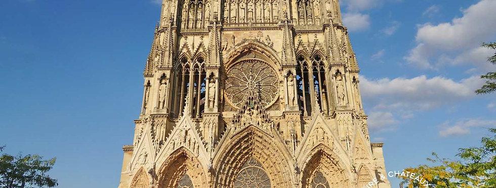 Picardie: Reims, Soissons Pierrefonds, Compègne, Chantilly,, St Denis (Tour P3)