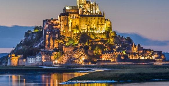 Normandie: Le Mont Saint Michel, St Malo, Bayeux, Deauville (Tour A)