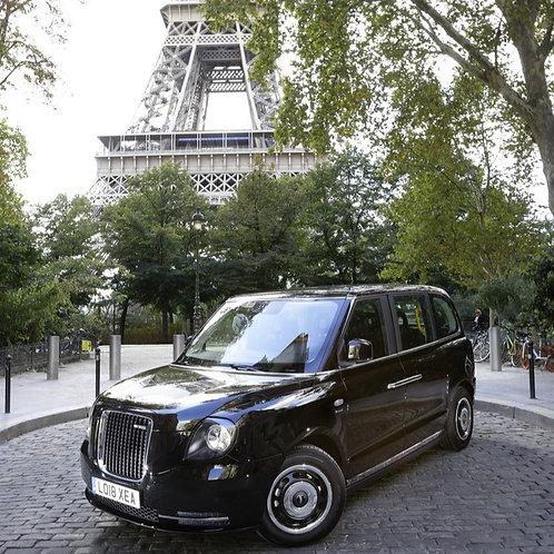 Taxi Londonien (ou PMR) - Mise à disposition à l'heure (20km inclus par heure)