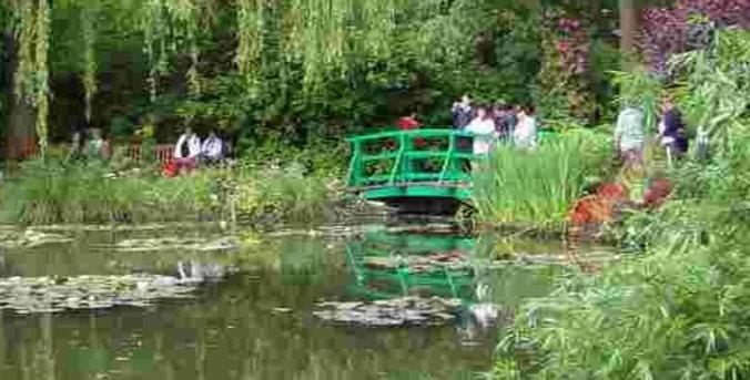 Les célèbres peintres: Claude Monet (Giverny), Vincent Van Gogh (Tour G)
