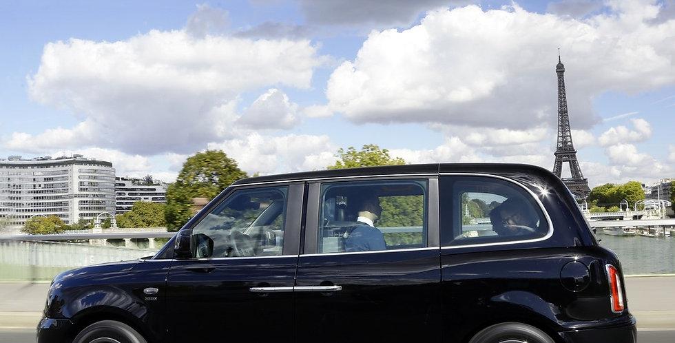 Course sur mesure Taxi Londonien Hybride 6 places