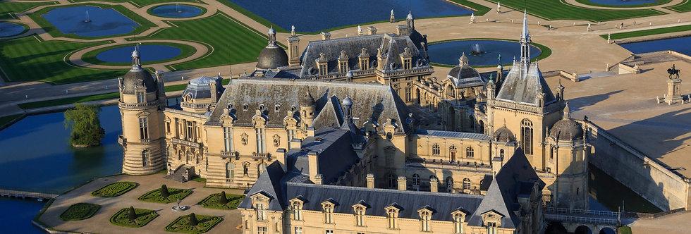 Picardie: Chantilly, Pierrefonds, Provins, Brie-Comte-Robert (tour P2)