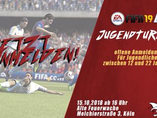 Das 1. JECKEV-FIFA TURNIER!
