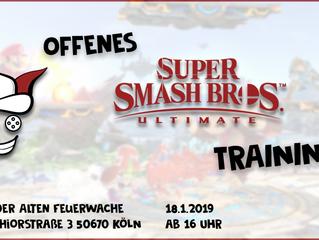 Super Smash Bros Training