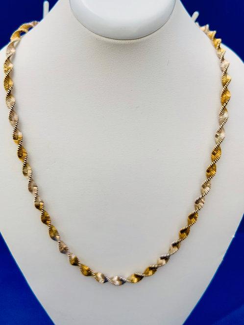 Twisted Vermeil Chain