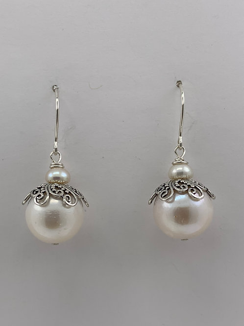 Freshwater Pearls wrapped in Sterling Silver