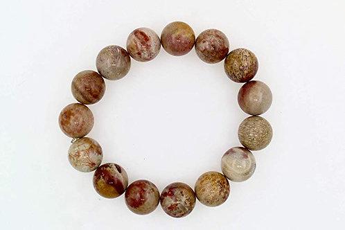 Apple Jasper stretch bracelet