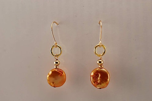 Golden Pearls on 14KT Gold Filled