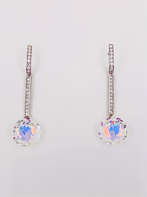 Sterling Silver with Cubic Zirconia