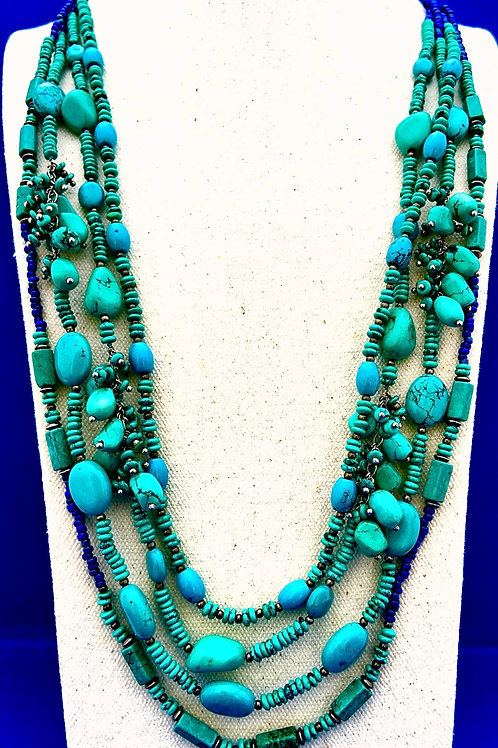 Turquoise with Sterling Silver