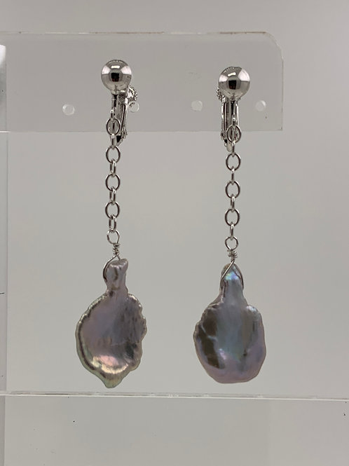 Cultured Freshwater Keishi Pearls on Sterling Silver