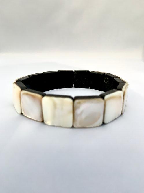 Mother of Pearl Dublet Bracelet
