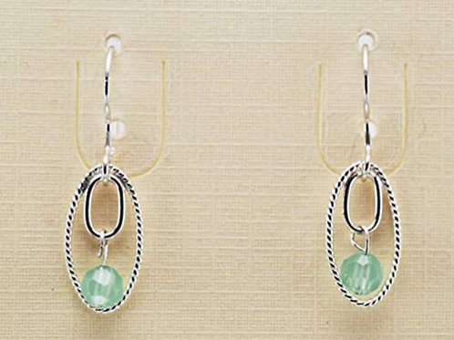Faceted Aventurine in Sterling Silver