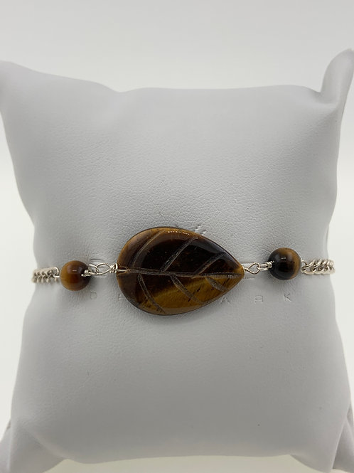 Tiger Eye on Sterling Silver