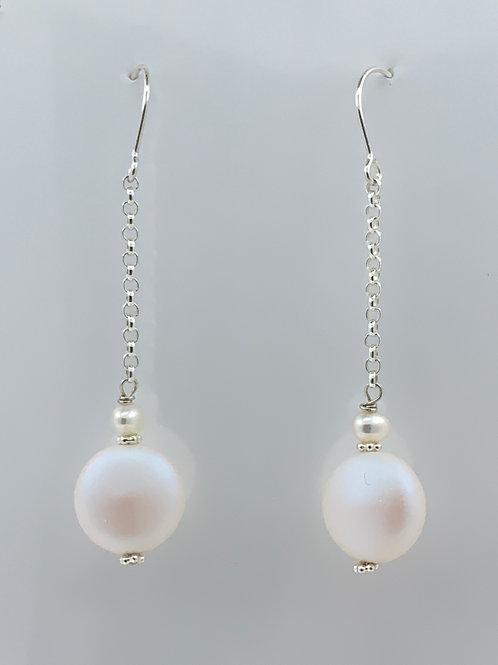 Lustrous Swarovski Pearl on Sterling Silver