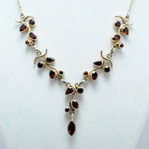 crop necklace jewelry crystal tone silver vine fashion inspired vintage center products