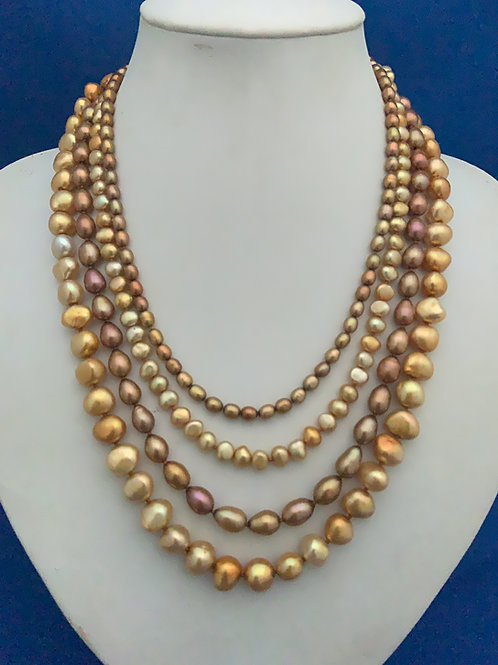 Freshwater Pearl with Vermeil