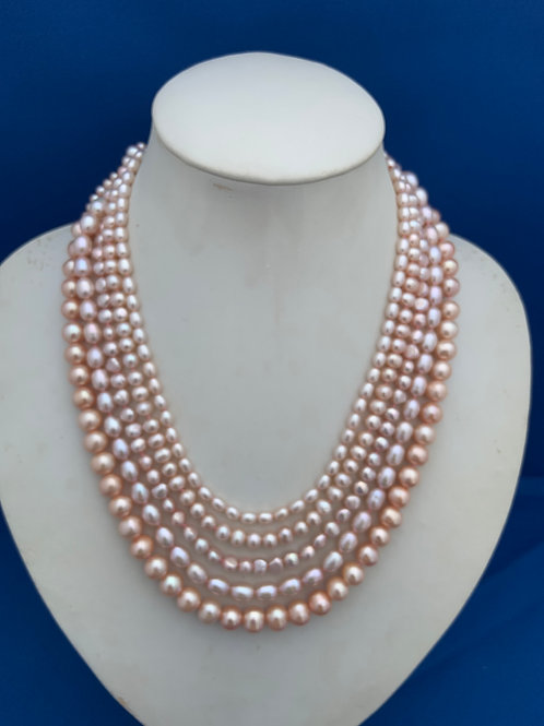 Freshwater Pearls on Sterling Silver