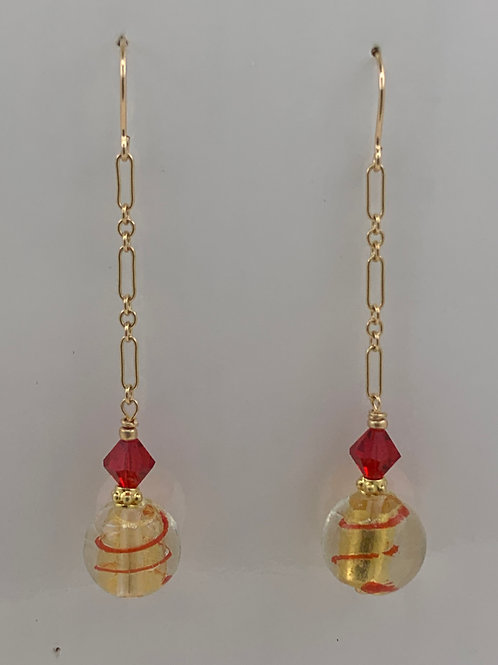 Swarovski and Czech Crystal with 14K Gold Filled